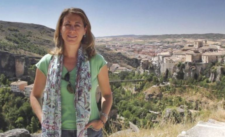 Foto que la propia Susana Pérez publicó en su cuenta de Twitter al anunciar que sería la pregonera de San Julián.
