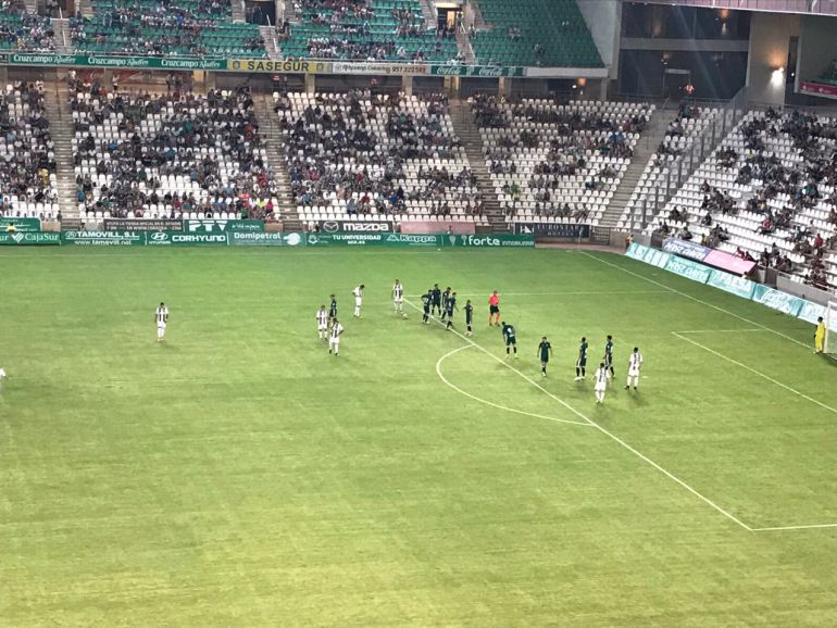 El Córdoba CF suma su sexta victoria de pretemporada ante el Betis (1-0)