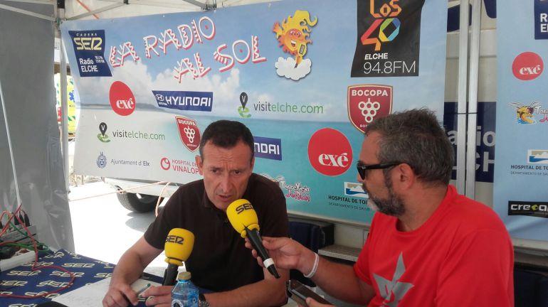 El alcalde Carlos González en la Radio al Sol