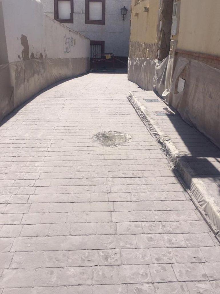 Sax renueva la calle Refugio en el centro histórico