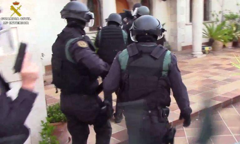 Agentes de la Guardia Civil en una operación