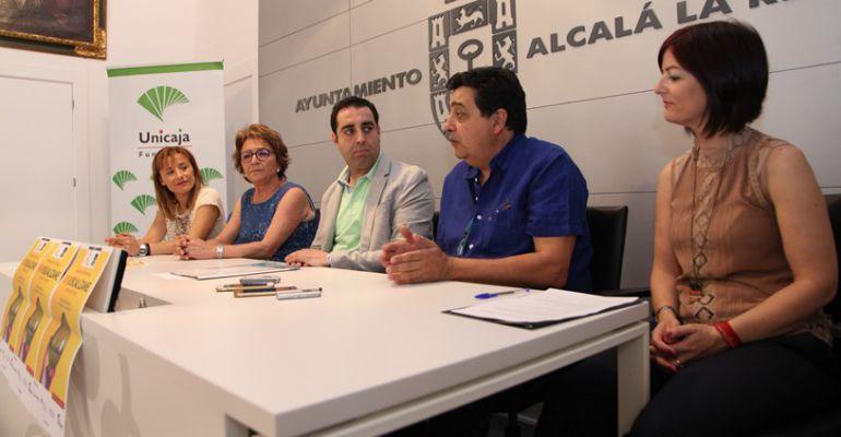 El Ayuntamiento de Alcalá la Real acogió la presentación de este festival.