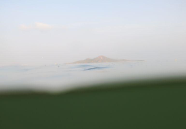 Vuelven las aguas verdes al Mar Menor