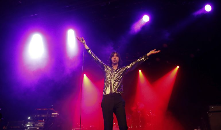 El cantante de Primal Scream, Bobby Gillespie, durante un concierto celebrado este año en Madrid