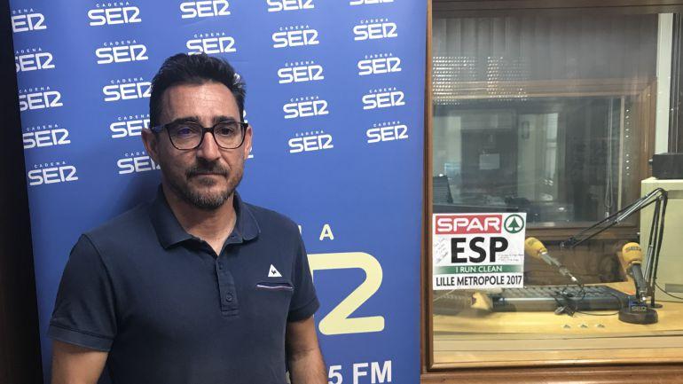 """Javier Cañadillas entrenador de Ana Lozano: Javier Cañadillas: """"Ya que estamos en el baile, vamos a bailar"""""""