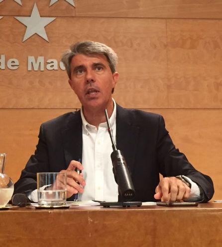 Ángel Garrido, portavoz del gobierno regional.