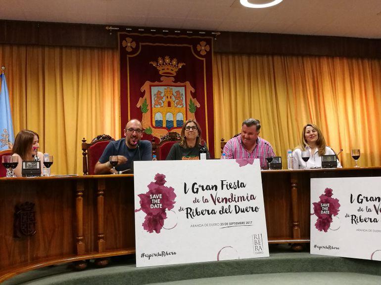 El Consejo Regulador de Ribera del Duero ha presentado la I Fiesta de la Vendimia en el marco de Sonorama Ribera