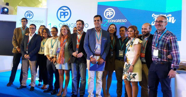 Junta directiva resultante del Congreso Provincial del PP de Jaén