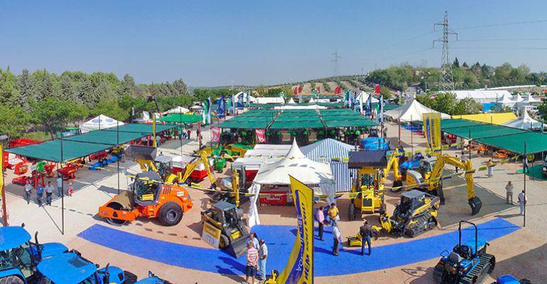 Panorámica de la Feria de Maquinaria Agrícola de Úbeda