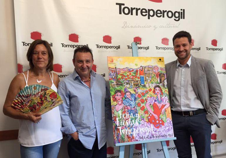 Cartel de la Feria de Torreperogil 2017
