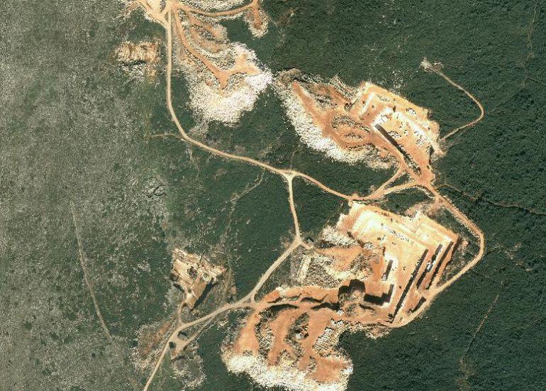 Impacto en la sierra de Cabra de las explotaciones de mármol y caliza que estuvieron en marcha hasta los años 90