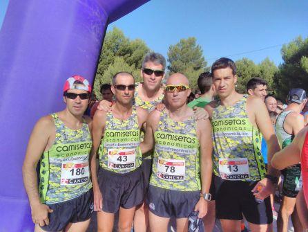 Atletas en El Culebrón