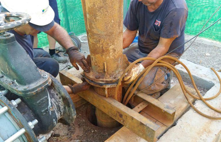 Comienzan a funcionar cinco pozos de la batería de la Vega Media que aportarán 8,7 hm3 de agua anuales