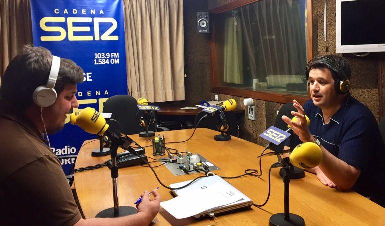 Francisco Fraga en Radio Ourense