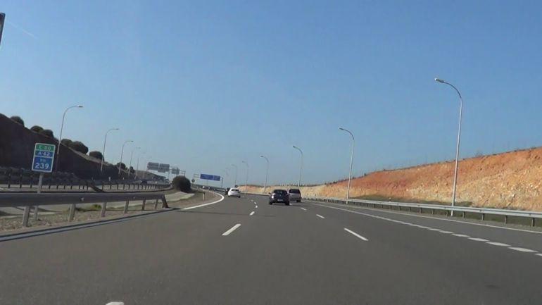 Imagen de la autovía A-62.