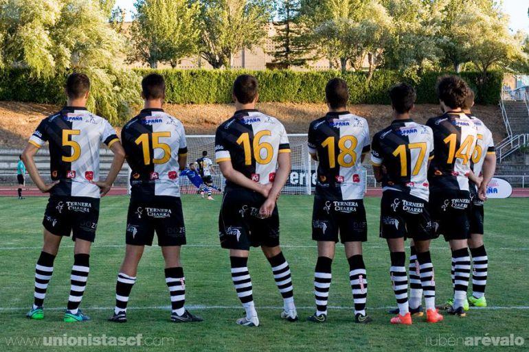 Imagen oficial del club. Unionistas, en la tanda de penaltis ante el Mérida.