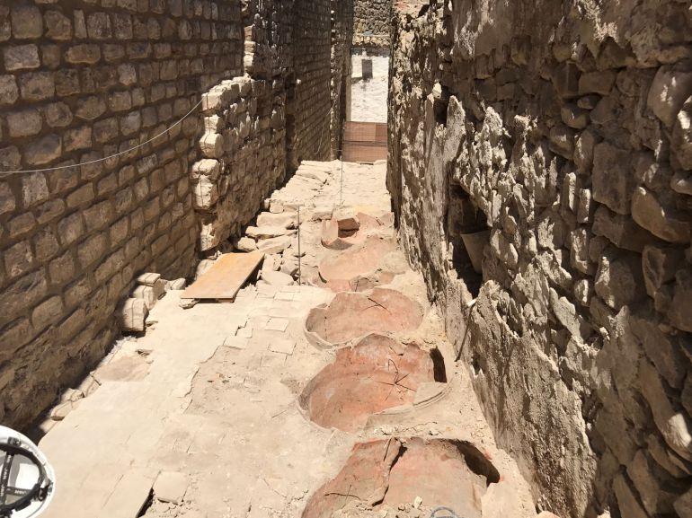 Hallazgos arqueológicos en Sabiote