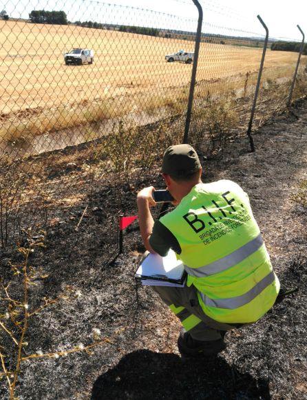 El método de evidencias físicas permite averiguar las causas de un incendio.