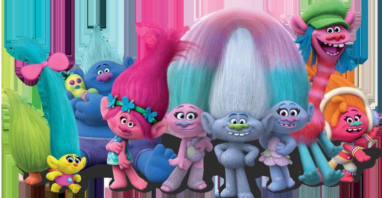 Trolls, la pélicula elegida para una iniciativa de cine dirigido a niños autistas en Sanse