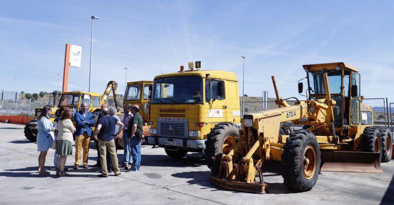 Siete nuevas máquinas de mantenimiento para el Valle Norte del Lozoya