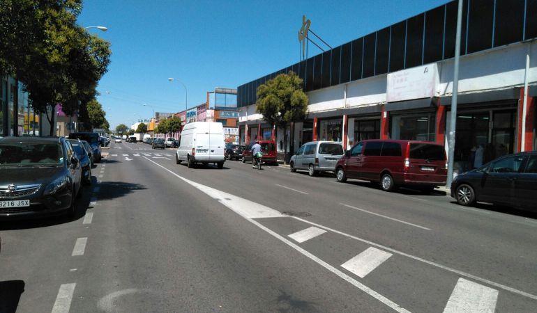 La calle principal del Cobo Calleja será remodelada en unos mesos