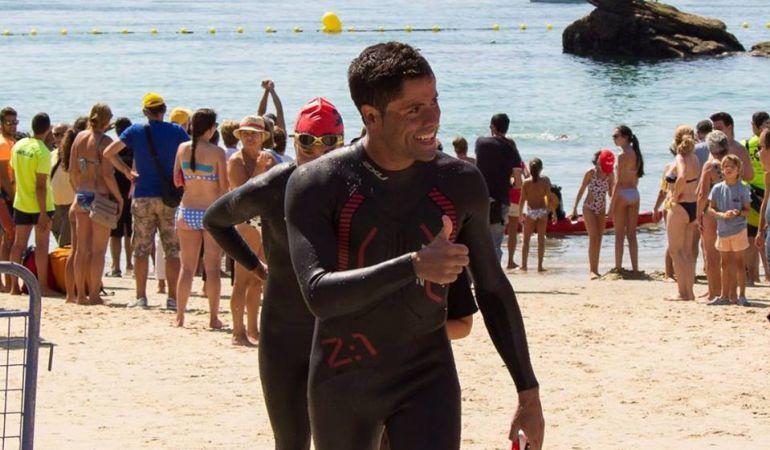Carlos Rodríguez Faraldos nadará en septiembre contra la esclerosis múltiple