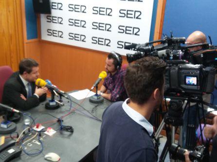 Varios medios de comunicación han cubierto la entrevista del presidente regional en la SER