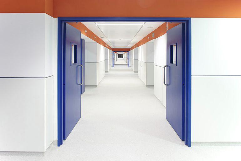 Imagen de archivo del interior del Hospital