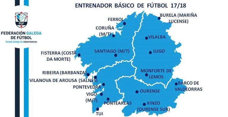 Novo plan de estudos para os adestradores de Fútbol, na nosa comunidade galega