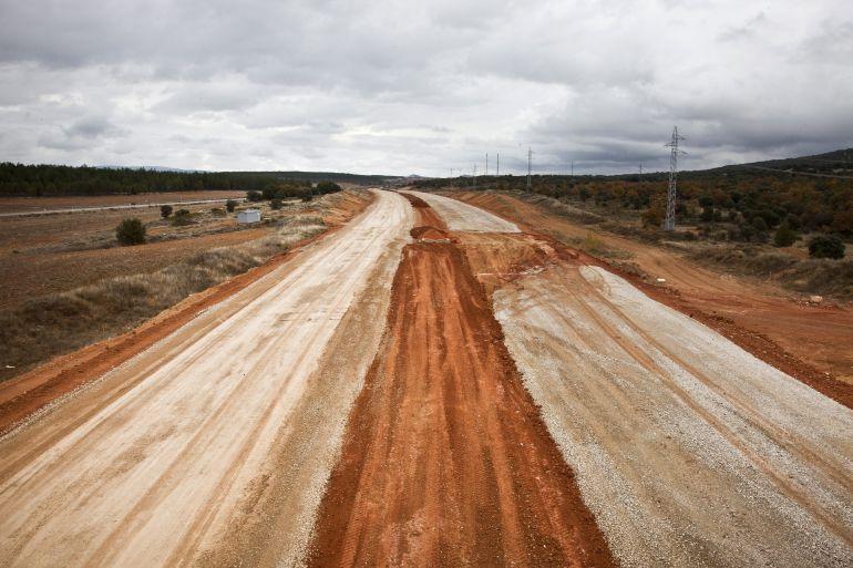 Apenas avanzan las obras en los tramos de la A-11 en los que están iniciadas pese a que se siguen aprobando trámites burocráticos