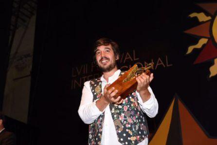 Sergio Ruiz Lopera, premio instrumentista 'El Filón'