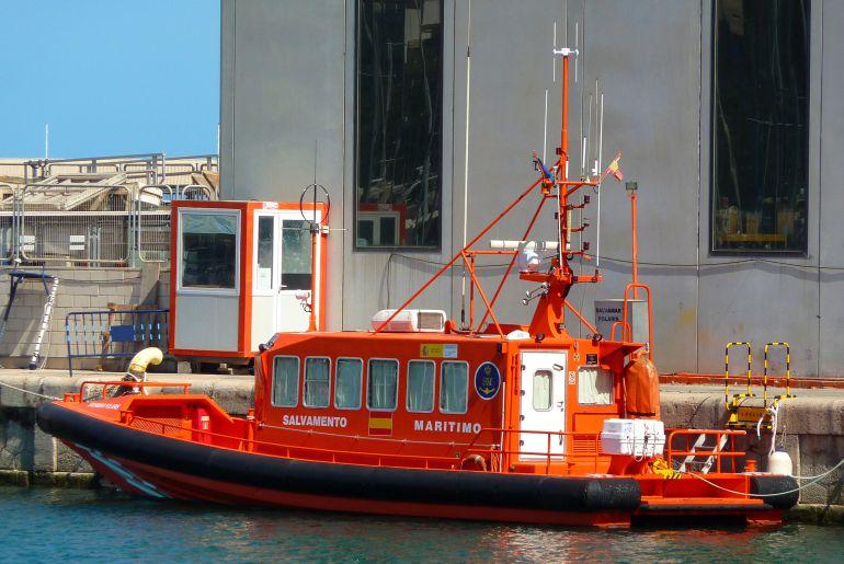 Imagen de archivo de una embarcación de Salvamento Marítimo