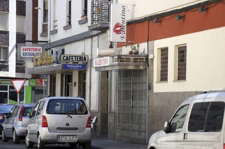 Bar de la calle Federico Echevarría donde comenzó la disputa en la que un hombre de 55 años, J.R.D., ha muerto hoy de madrugada tras sufrir varias heridas de arma blanca, tras lo que el Cuerpo Nacional de Policía ha arrestado al supuesto autor