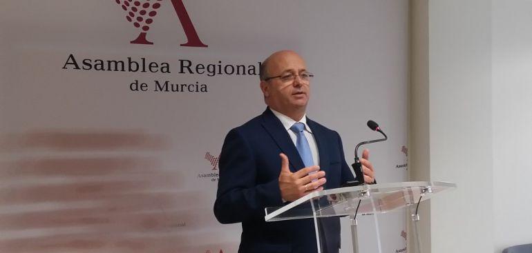 """Cs critica el """"nulo"""" peso político de López Miras en Madrid"""