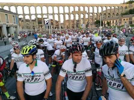 Cerca de 2.500 ciclistas han tomado la salida en la XXIV edición de esta marcha cicloturista