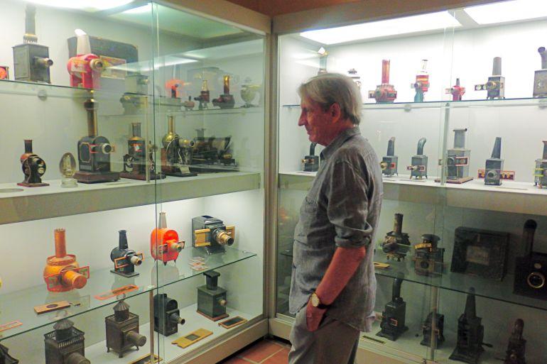 Martin Patino en la Filmoteca de CyL
