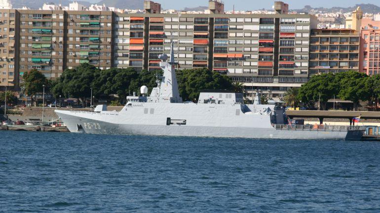 Una de las corvetas de la clase Avante construida por Navantia para Venezuela