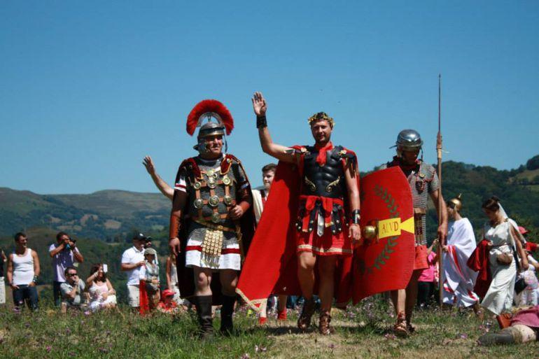 Las legiones romanas llegan a Carabanzo