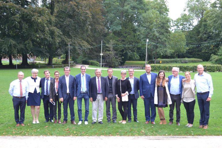 Imagen de la Asamblea de Euroequs celebrada este fin de semana en la ciudad alemana de Waregen