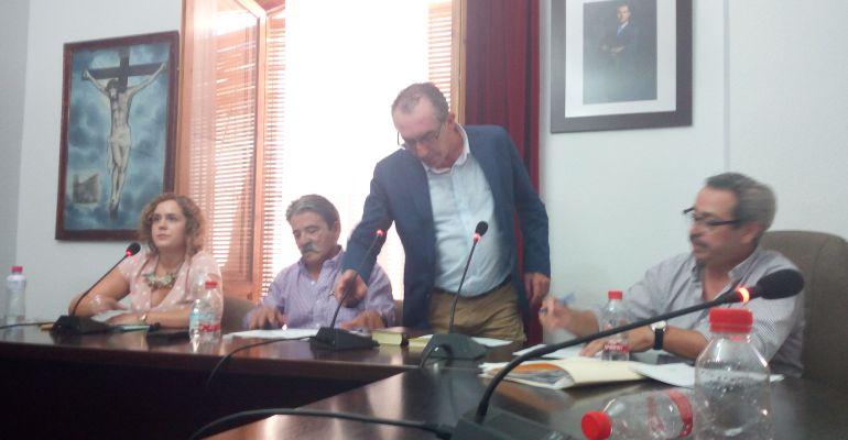 Damián Martínez, jura el cargo como nuevo alcalde de Begíjar.