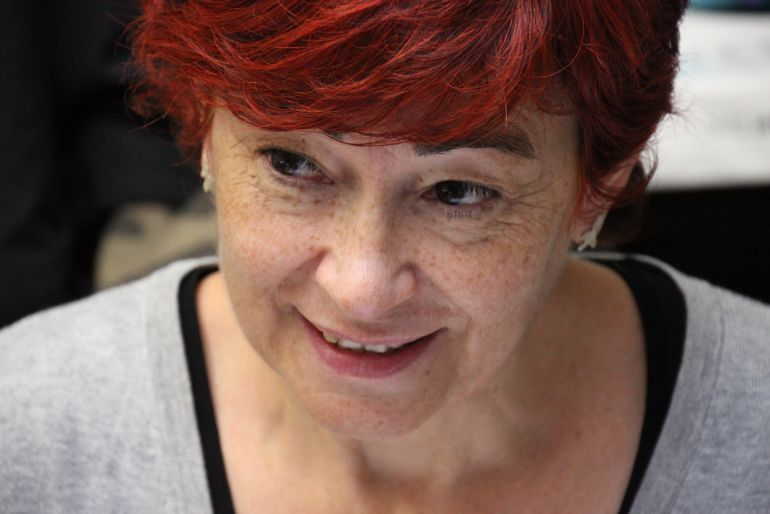 Maite Ferreiro, concejal del BNG en el concello de Lugo