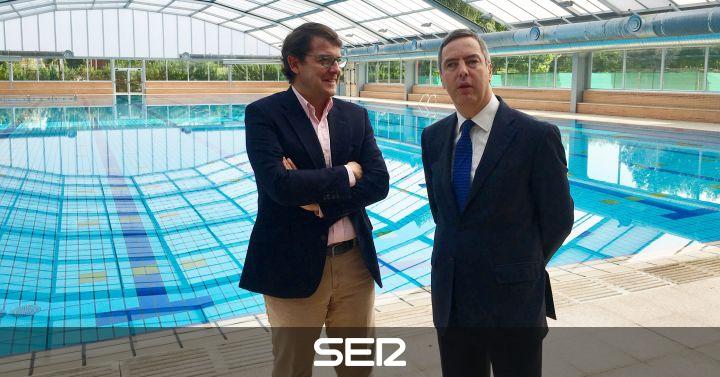 Finalizan las obras de la piscina cubierta de garrido for Piscinas garrido