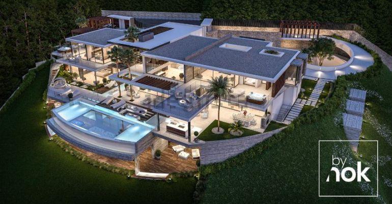 Se venden viviendas en la moraleja la m s cara por - Urbanizacion de lujo en madrid ...