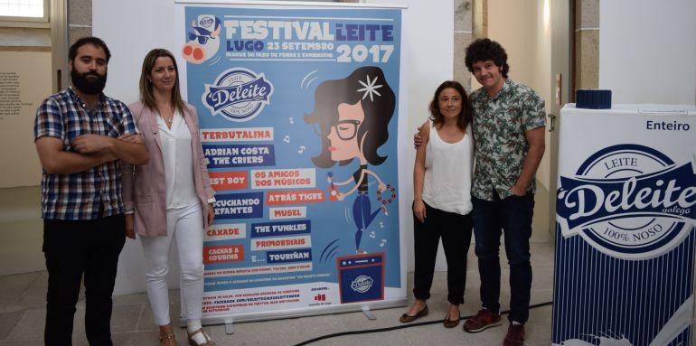 Lugo acogerá el 23 de septiembre el festival do Leite, organizado por Deleite