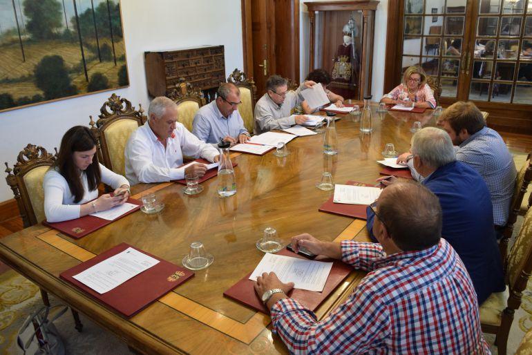 Junta de Gobierno en la que se acordó ampliar el plazo de los trabajos