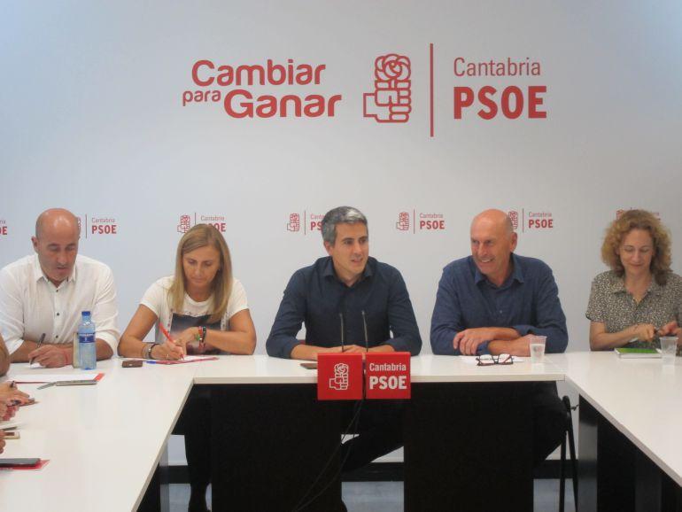 Ejecutiva del PSOE en Bonifaz, Santander