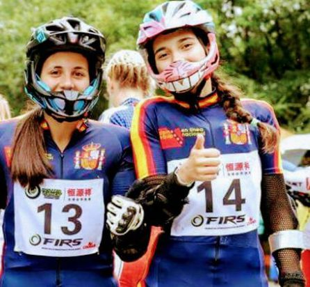 Dos bercianas, bronce con Team España en el Mundial de Alpino en Línea