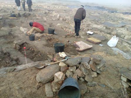 Una de las campañas de excavación llevadas a cabo en 'El Vergel'