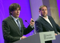 Puigdemont: Esta actitud va a acabar de convencer a los que tenían dudas sobre el referéndum