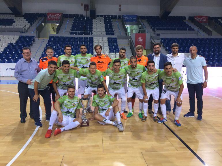 El Palma Futsal conquista el Ciutat de Palma